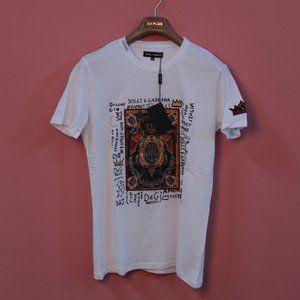 Dolce & Gabbana White Casual T-Shirt